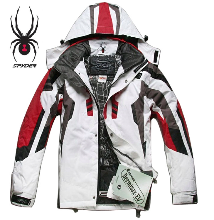 Spyder Jacket And Logo